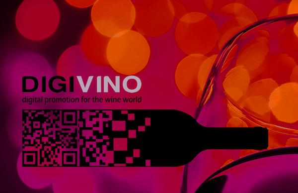 DigiVino wine logo design