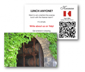 wine business print collateral by DigiVino