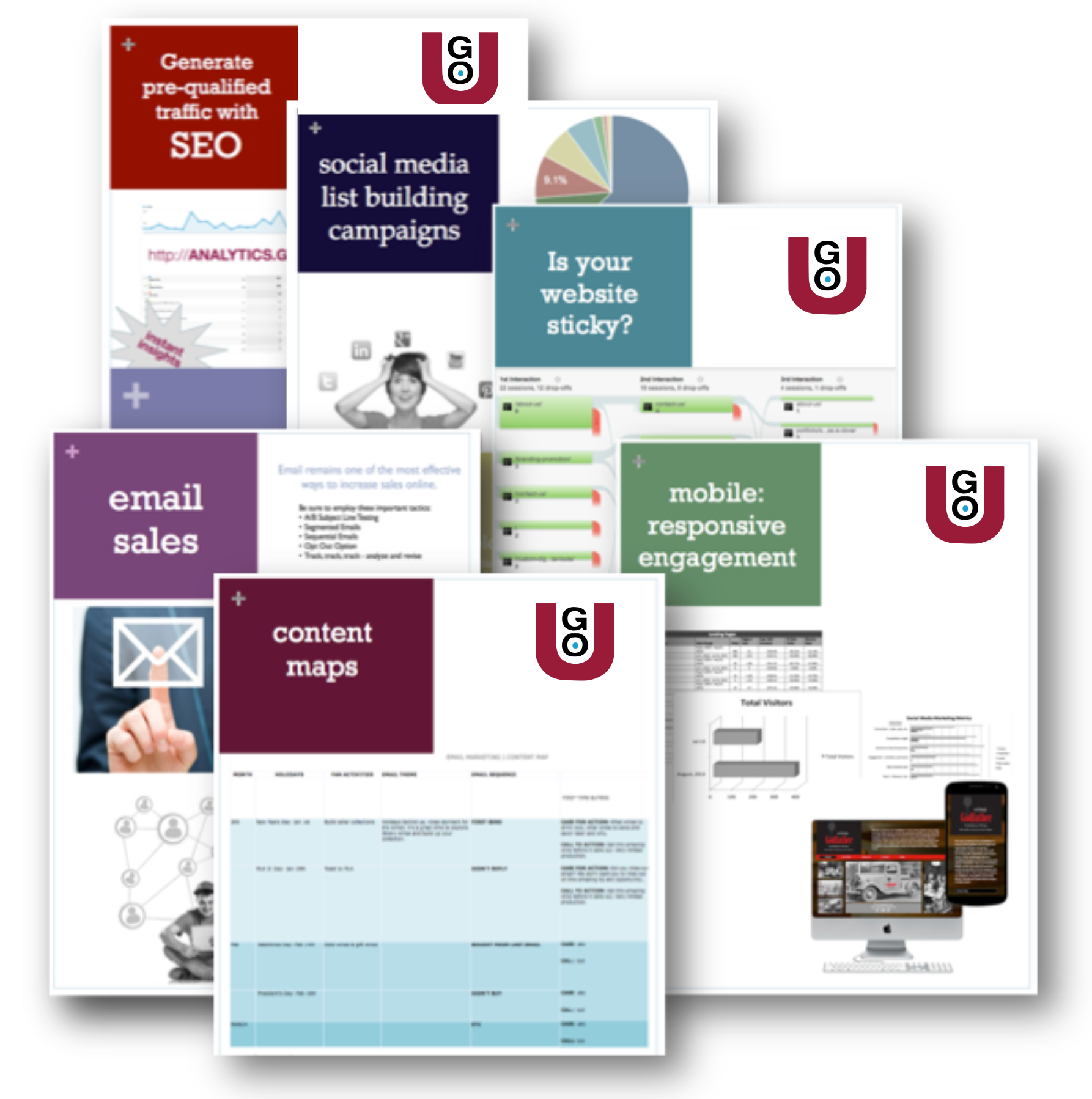 GO-U Online Marketing And Wine Business Promotion Tool Kit
