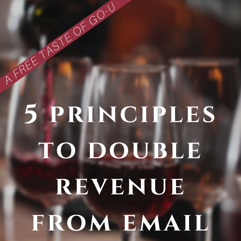 5 Principles to Double Revenue from Email GO-U Program