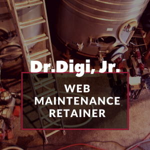 Dr. Digi Junior Web Maintenance Retainer