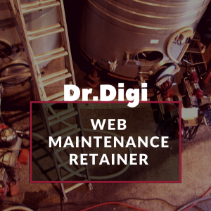 Dr.Digi Web Maintenance Retainer