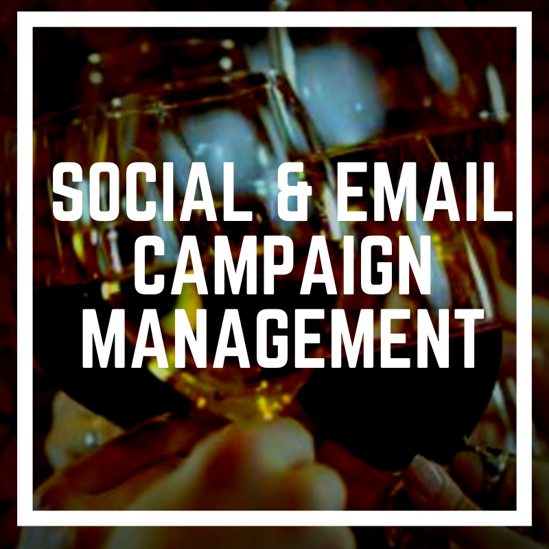 DigiVino Social Media And Email Campaign Management