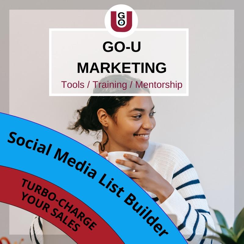 GO-U's Social Media List Builder
