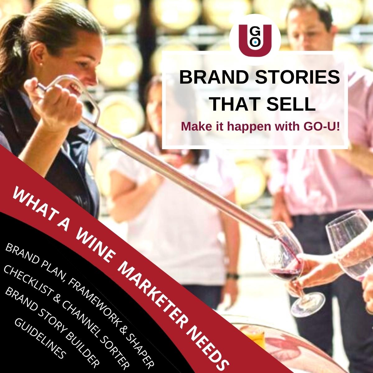 GO U Make You Brand Story Sell